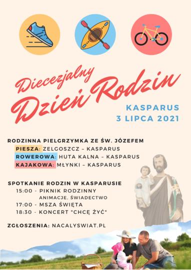 Diecezjalny Dzień Rodzin w Kasparusie